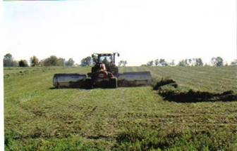 Merging Alfalfa at Soaring Eagle Dairy